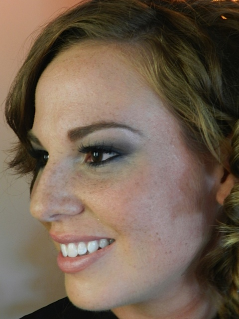 Rhode Island wedding makeup