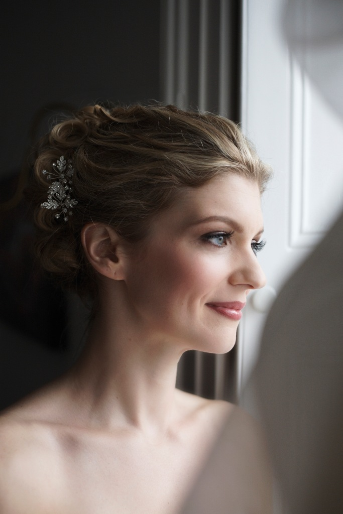 Newport RI bridal makeup