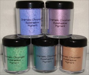 Eyeshadow pigments