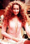 Jerry Hall makeup
