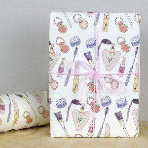 Makeup wrapping paper