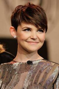 Ginnifer Goodwin, round face shape