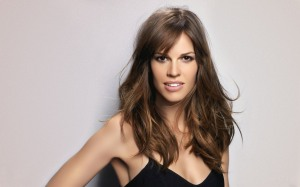 Hilary Swank, triangle face shape