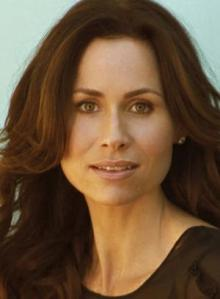 Minnie Driver, triangle face shape, pear face shape