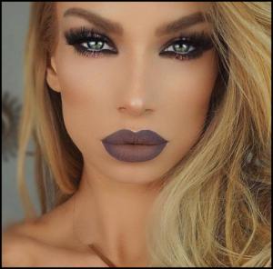 Instaglam makeup