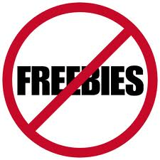 No freebies