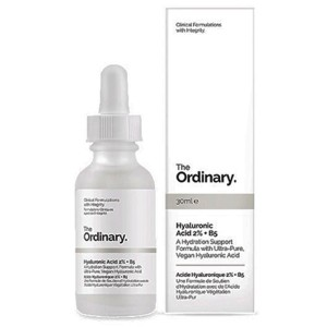 hyaluronic acid, The Ordinary, vitamin B5