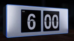 Alarm clock, beauty hacks, puffy eyelids