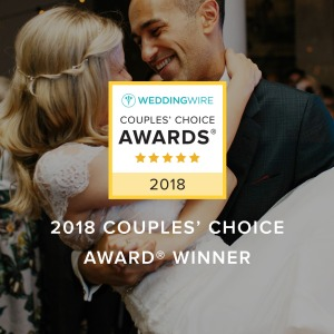 WeddingWire Couples Choice 2018, Newport RI wedding hair and makeup